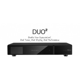 Tuner / T2 hybride VU + Duo2 1x DVB-S2 et DVB-C 1x, Full HD 1080p récepteur double Linux PVRready
