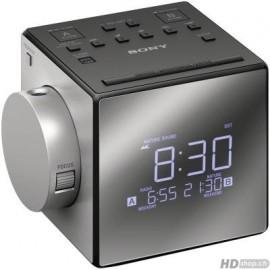 Sony ICF-C1PJ - Radio réveil Sony, argent