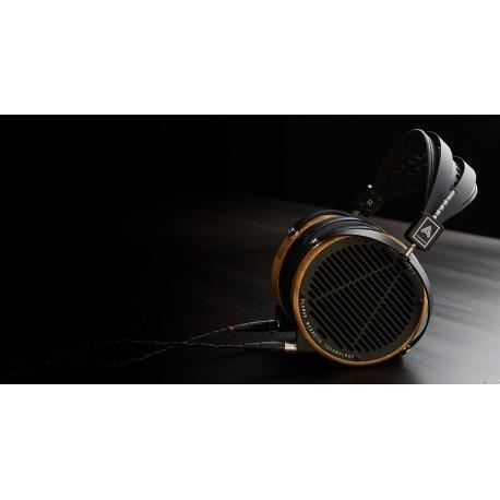 Audeze LCD-2 avec boîtier Bambou et serre-tête en cuir, Casque audio haut de gamme magnétostat