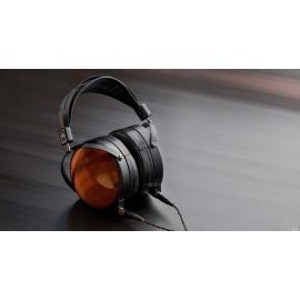Audeze LCD-XC bois de Bubinga, serre-tête en cuir, Écouteurs fermés de haut de gamme