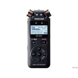TASCAM DR-05X - Enregistreur stéréo portable, interface audio USB