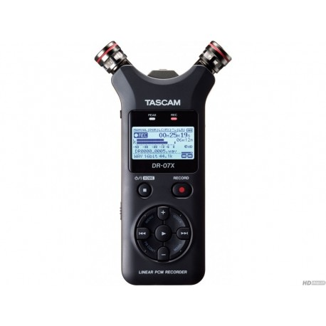 TASCAM DR-07X - Enregistreur stéréo portable, interface audio USB