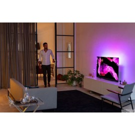 Philips 65OLED803/12, technologie OLED avec ambilight, 140 cm