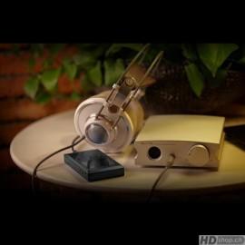 Aune X7s argent, est un amplificateur de casque avec beaucoup de puissance (1181)