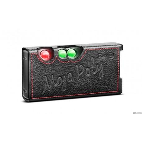 Set Mojo + Poly + Premium leather case black
