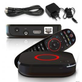 Infomir MAG 424 W3 IPTV Receiver Set Top Box 4K UHD HEVC H.265 Multimedia Player