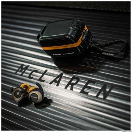 T5 II true wireless sport Mc Laren orange-black