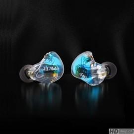 iBasso AM05 bleu Écouteurs intra-auriculaires avec 5 pilotes