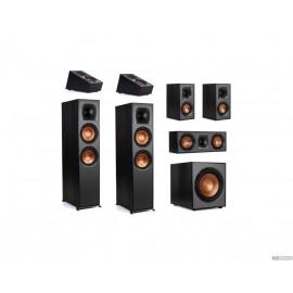 Klipsch R-820F, Atmos Set 5.1.2