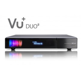 VU + Duo² 1x DVB-C / T2 double syntoniseur hybride, Full HD 1080p récepteur double Linux PVRready