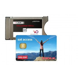 Set carte SSR + Module Viaccess