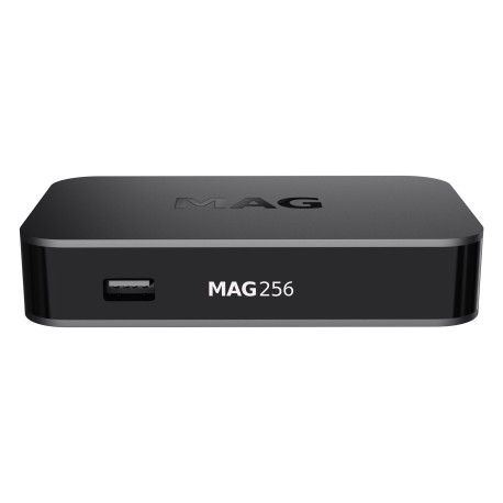 MAG256 HEVC Set-Top Box, Multimedia player