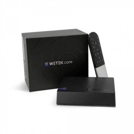 WeTek Core, Android & Kodi, 4 K, IPTV ready, WebTV