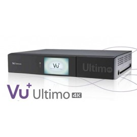 ULTIMO 4K 1x DVB-S2 FBC TWIN TUNER PVR Ready Linux receiver UHD 2160p