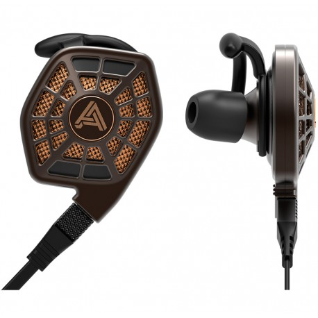 Audeze iSINE 20 avec câble lightening et câble standard, Écouteurs intra-auriculaires magnétostatiques avec pilote 24 ohms