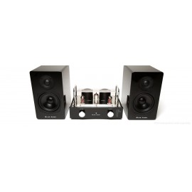 Blue Aura Compact system HiFi, V40 Blackline set, Bluetooth, 30 Watt