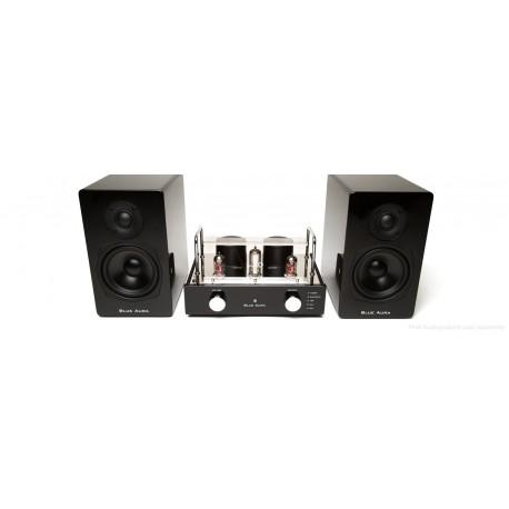 Blue Aura Compact system HiFi, V40 Blackline set, Bluetooth, 30 Watt