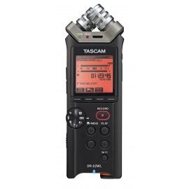 Enregistreur TASCAM DR-22WL de poche avec fonctionnalités Wi-Fi