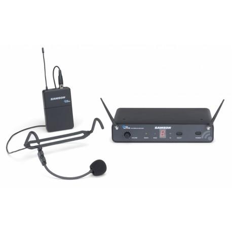 SAMSON - SWC88BHS5, microphone de tête pour professionnel, dansseurs, chanteurs