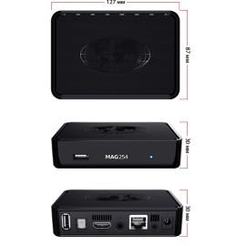 Mag 254 W1, Lecteur multimédia Internet IPTV avec LAN et WiFi