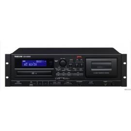 TASCAM CD-A580 - Lecteur CD & Lecteur/enregistreur cassette et clé USB