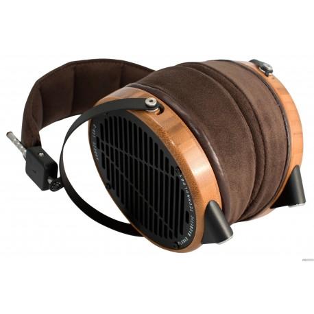 Audeze LCD-2 avec boîtier Bambou sans cuir, Casque audio haut de gamme magnétostat