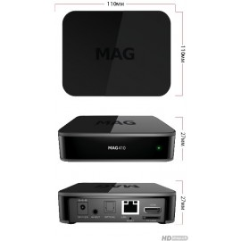 Infomir Mag 410, set-top Box UHD