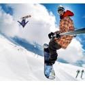 GoPro pour le Snowboard