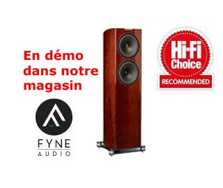 Présentation Fyne Audio